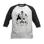 Ingles Family Crest Kids Baseball Jersey