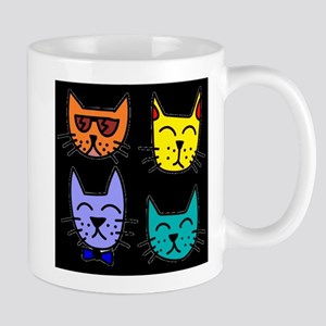 Cool Cats 11 oz Ceramic Mug