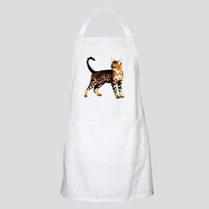 Bengal Cat: Raja BBQ Apron