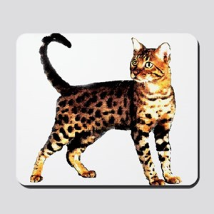 Bengal Cat: Raja Mousepad