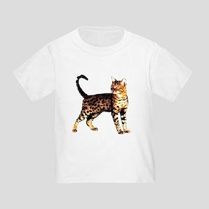 Bengal Cat: Raja Toddler T-Shirt