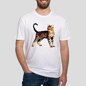 Bengal Cat: Raja Fitted T-Shirt