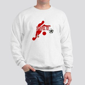 Peru Football Player Sweatshirt