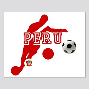 Peru Football Player Small Poster