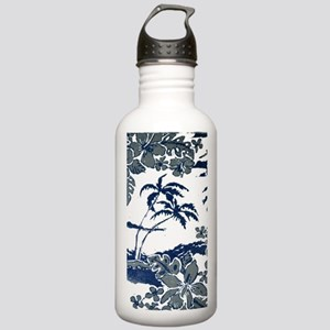 Tropical Beach Hibiscu Stainless Water Bottle 1.0L