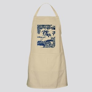 Tropical Beach Hibiscus Palm Style Light Apron