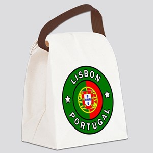 Lisbon Canvas Lunch Bag