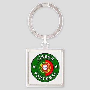 Lisbon Square Keychain