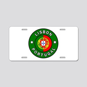 Lisbon Aluminum License Plate