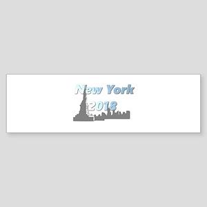 New York 2018 Bumper Sticker