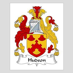 Hudson Family Crest Small Poster