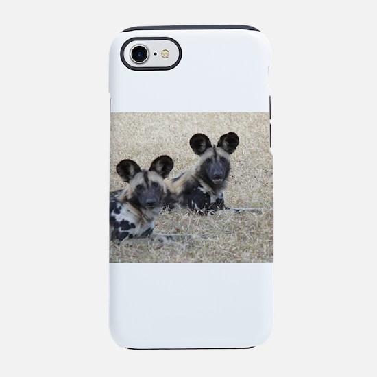 wild-dogs iPhone 7 Tough Case
