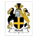 Hovell Family Crest Small Poster