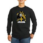 Hovell Family Crest Long Sleeve Dark T-Shirt