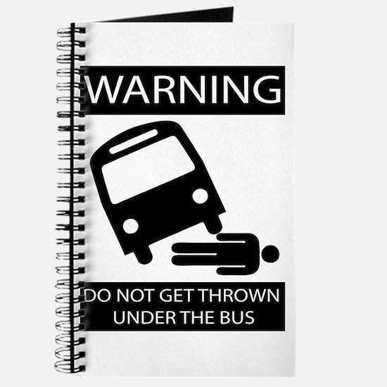 Cute Under bus Journal