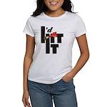 I'd Hit It Women's Classic White T-Shirt