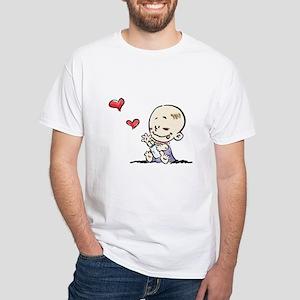 Tiny Tots Couple White T-Shirt