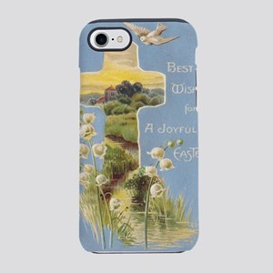vintage-easter-greeting iPhone 7 Tough Case