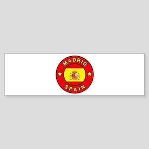 Madrid Bumper Sticker