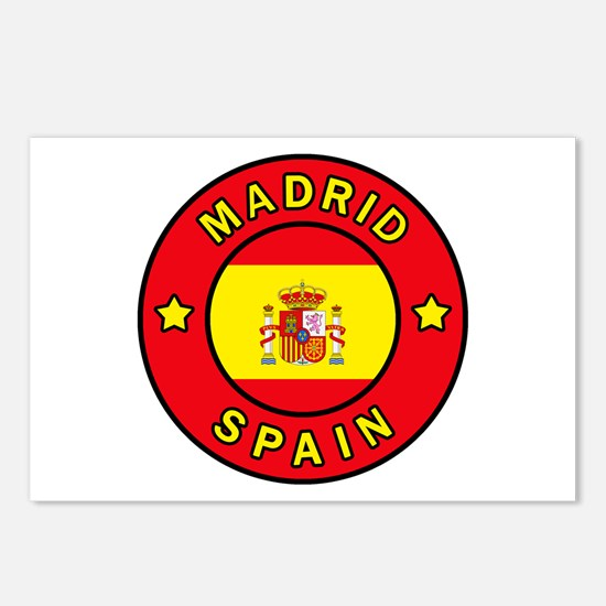 Madrid Postcards (Package of 8)