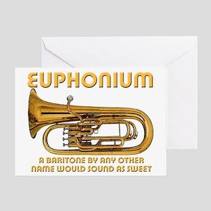 Euphonium Greeting Card