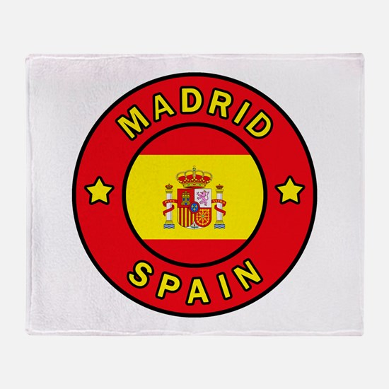Madrid Throw Blanket
