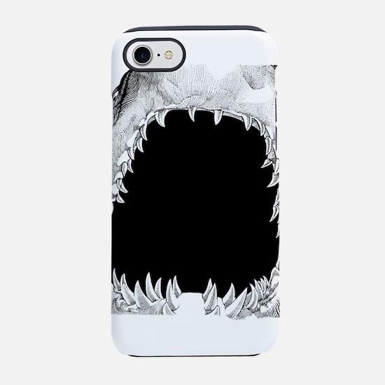 shark mouth iPhone 7 Tough Case