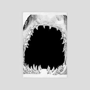 Shark Mouth 4' X 6' Rug