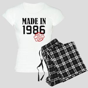 made in 1986 Pajamas