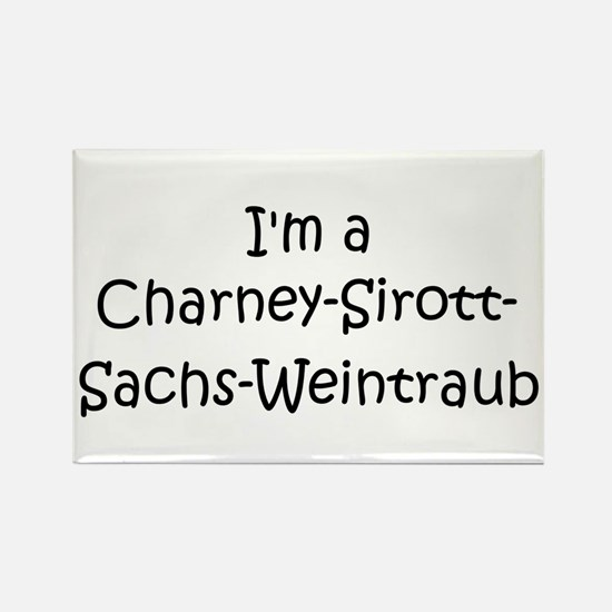 I'm a Charney-Sirott- Sachs Rectangle Magnet
