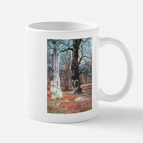 Sherwood Forest,. Robin Hood, England Mugs