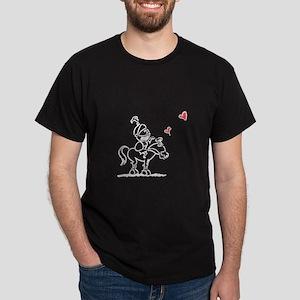 Shining Armor Couple Dark T-Shirt