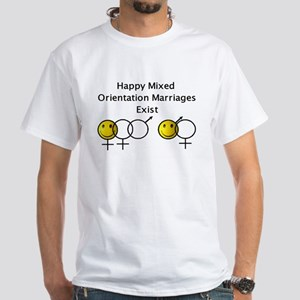 """Truth about M.O.M.s"" White T-Shirt"