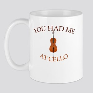 You had me at cello Mug