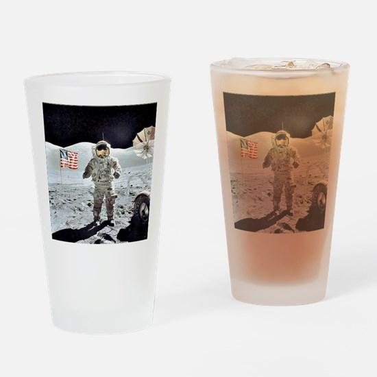 Moon Walk Drinking Glass