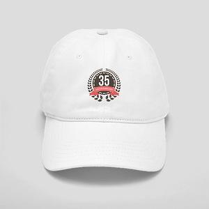 35 Years Anniversary Laurel Badge Cap