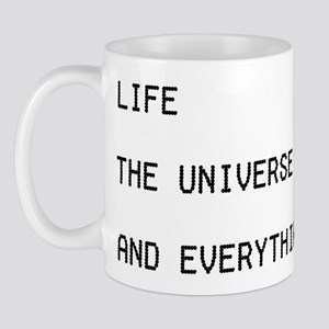 42 - Life, The Universe & Everything Mug