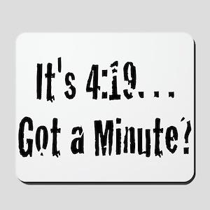 420... Need I say More? Mousepad