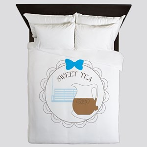Sweet tea Queen Duvet