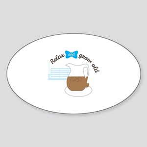 Retirement relax grow old Sticker