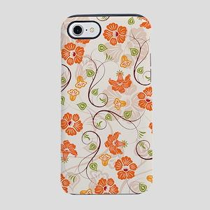 Seamless Flower Pattern iPhone 7 Tough Case