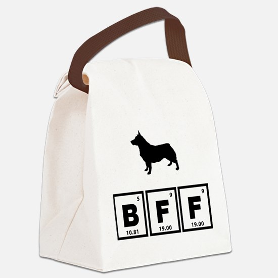 Swedish Vallhund Canvas Lunch Bag