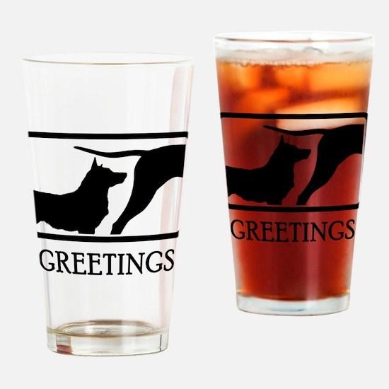 Swedish Vallhund Drinking Glass