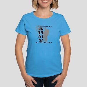 I Support My BF 2 - ARMY Women's Dark T-Shirt