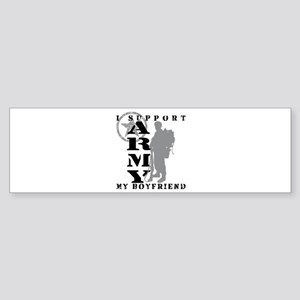 I Support My BF 2 - ARMY Bumper Sticker