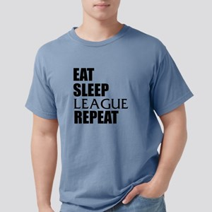 Eat Sleep League Repeat T-Shirt