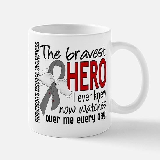 Bravest Hero I Knew Parkinsons Large Mugs