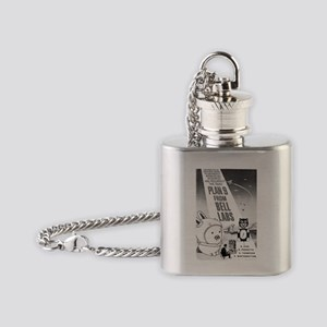 plan9 from bell labs Flask Necklace