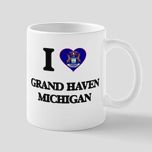 I love Grand Haven Michigan Mugs