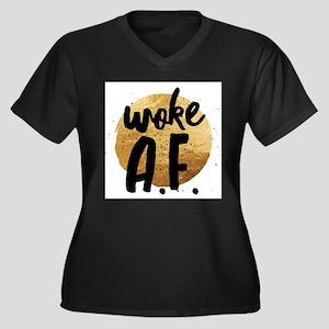 Woke A.F. Plus Size T-Shirt